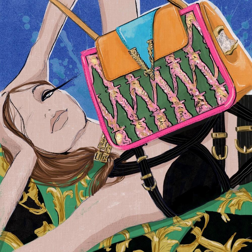 Monica Ruf Versace