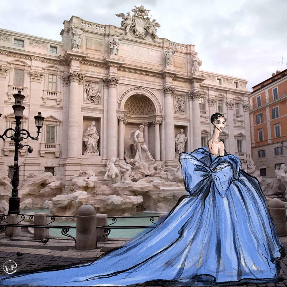 Ksenia Kotova Draw A Dot Valentino Rome