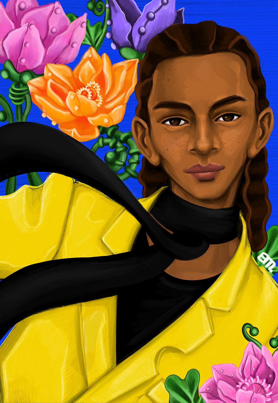 Shannon Martin Off-White Black Designer
